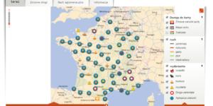 natezenie ruchu Francja